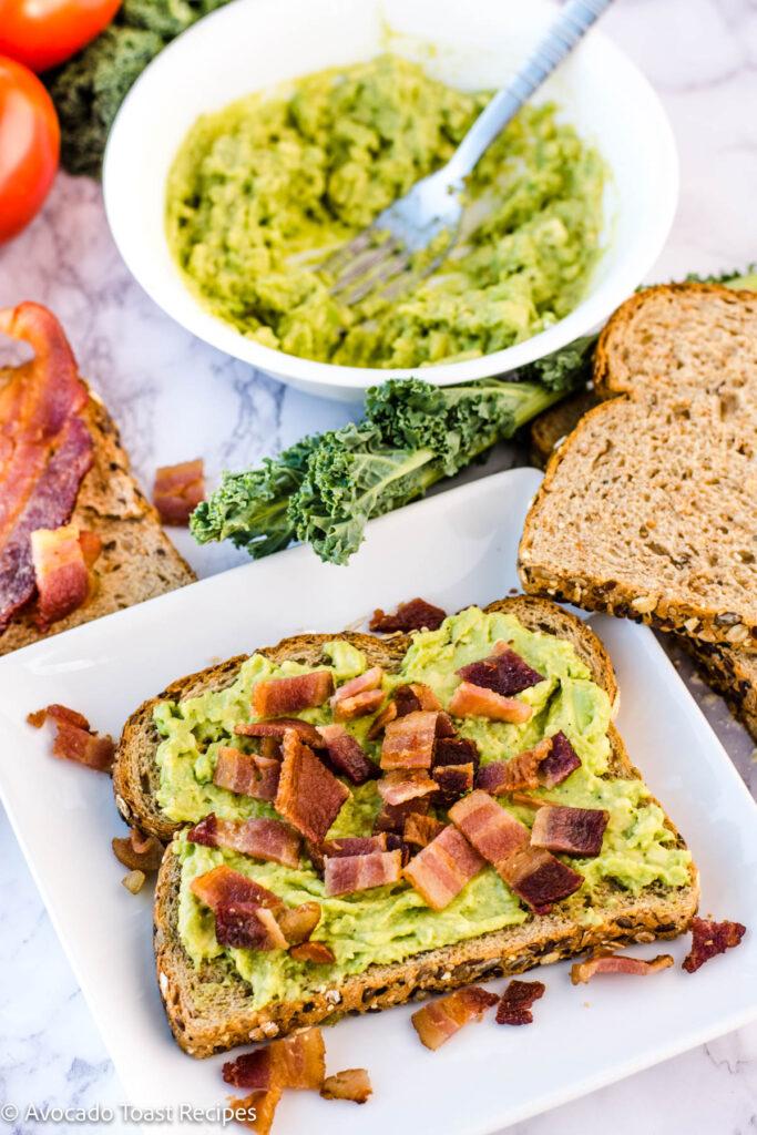 Bacon Avocado Toast Recipe