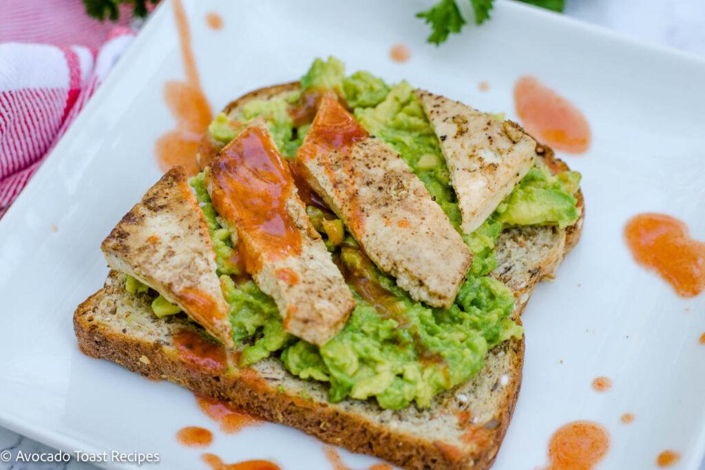 tofu avocado toast recipe